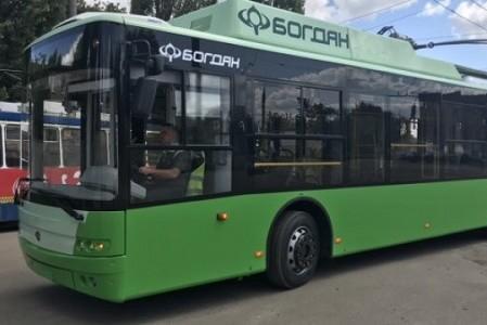 На Северной Салтовке завтра введут новый троллейбусный маршрут