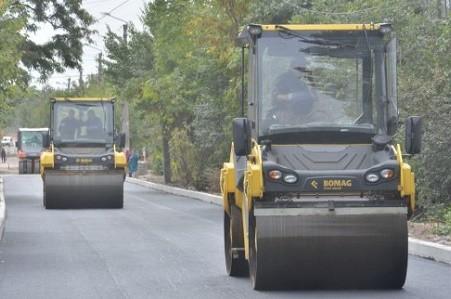 На улице Сидора Ковпака ремонтируют дорогу
