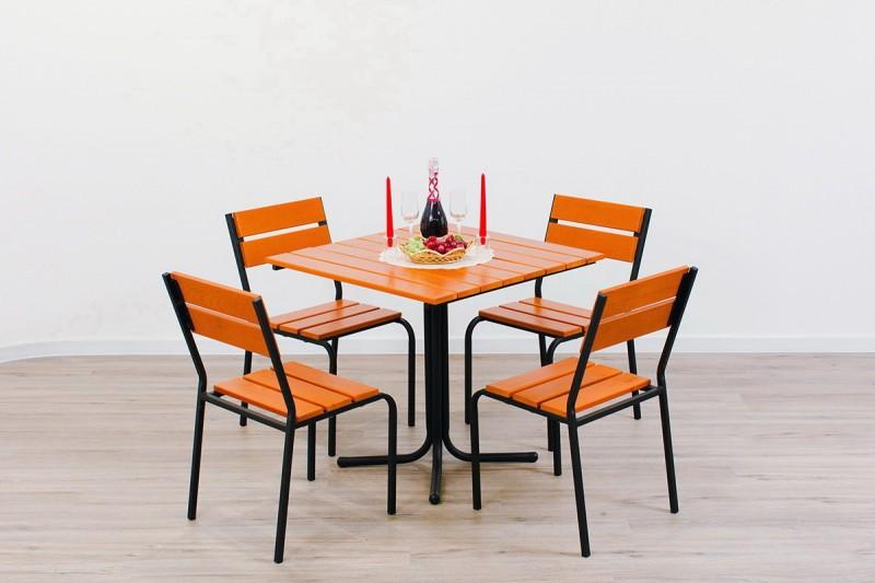 Мебель для летних кафе: критерии выбора