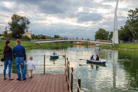 На набережной реки Харьков появится смотровая площадка