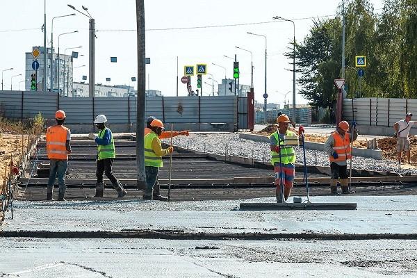 В ближайшие недели в районе ст. м. «Киевская» начнут строить новую дорогу