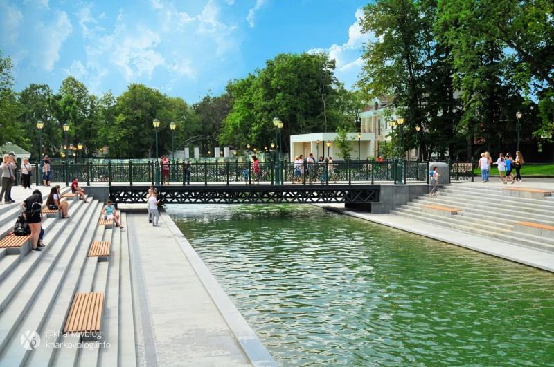 Все парки Харькова хотят соединить зелеными коридорами