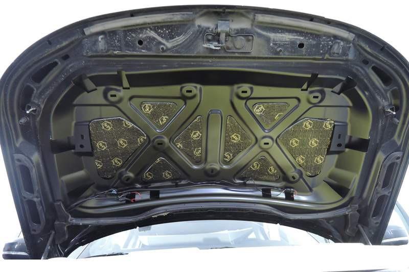 Шумоизоляция капота автомобиля – задачи, материалы и правила