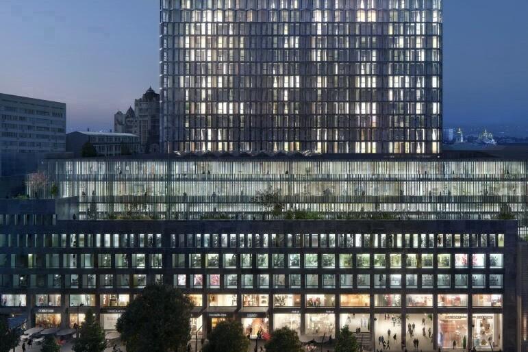 Каким будет новый полифункциональный комплекс KYЇVPROEKT City Space