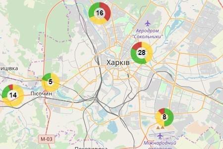 На территории Харьковской области зарегистрировано 380 незаконных свалок