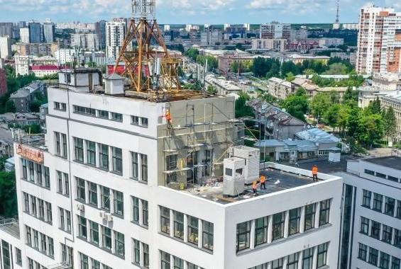 Смотровую площадку на Госпроме откроют ко Дню Независимости