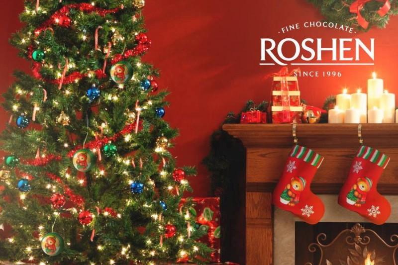 Новогодние подарки Roshen – вкусно и красиво