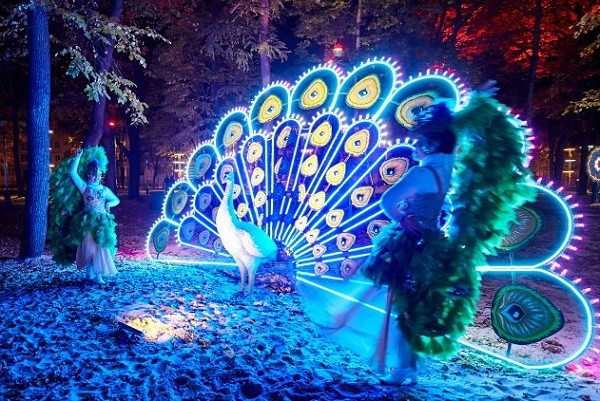 Возле ДК «Металлист» открылся первый в Украине фэнтези-парк