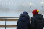 На площади Свободы открылся ледовый каток