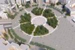 На реконструкцию сквера на площади Свободы планируют потратить 90 млн гривен
