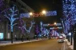 В центре Харькова на месяц перекрыли улицы из-за установки иллюминации