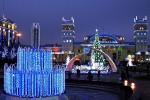 На Привокзальной площади установили новогоднюю елку
