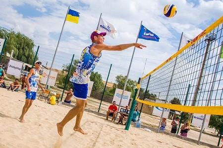 На площадках парка Горького пройдет чемпионат по пляжному волейболу