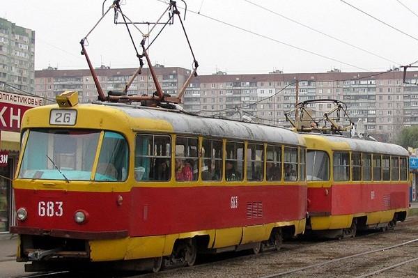 На Салтовке два трамвая меняют маршруты