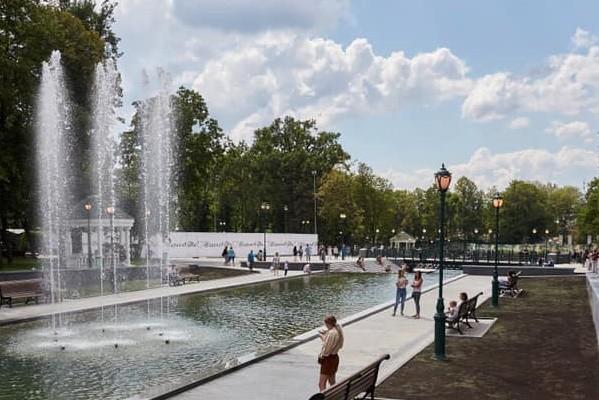 Сквер Стрелка и озеро в саду Шевченко открыты для харьковчан и гостей города