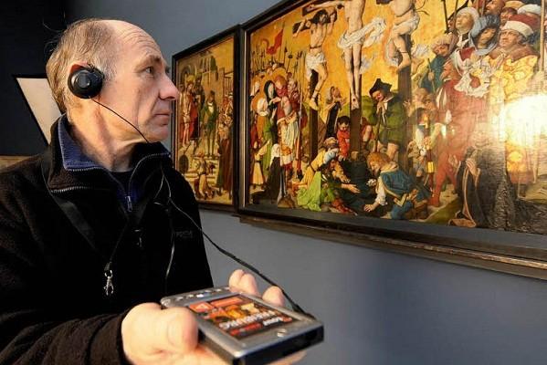 В Харьковском художественном музее появился аудиогид для незрячих