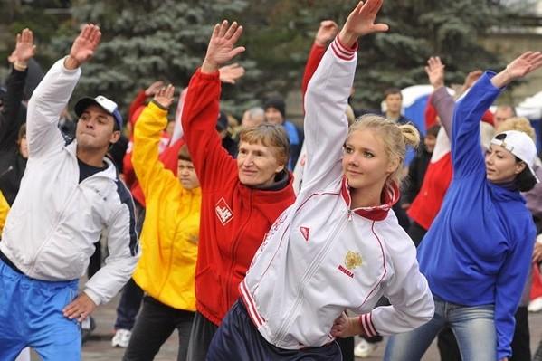 На Салтовке и в Лесопарке пройдут зарядки с чемпионами