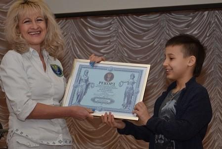 Харьковский школьник назвал 140 физтерминов и установил рекорд Украины