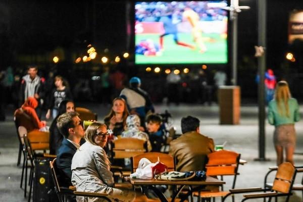 Перед ХНАТОБом организуют фан-зону для футбольных болельщиков
