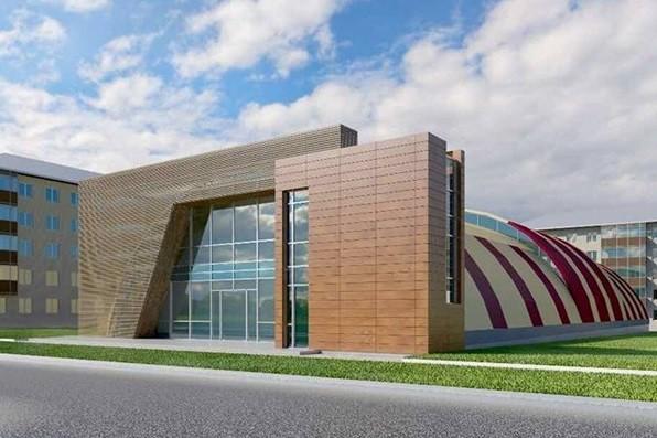 В Краснограде строят самый большой в регионе ФОК