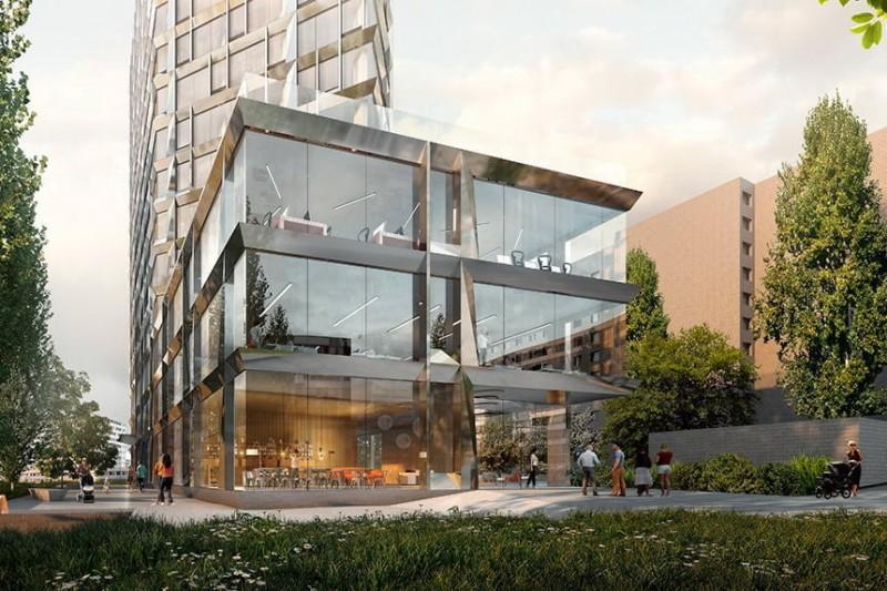 PHILADELPHIA Concept House — клубный дом в Киеве с динамичным фасадом