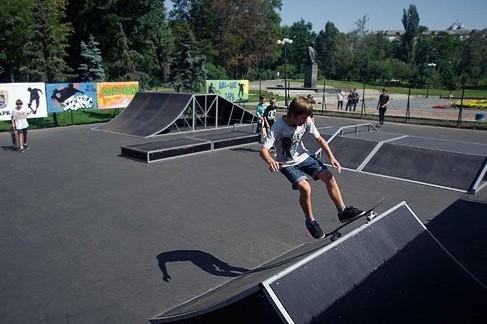 В Изюме планируют построить новый скейт-парк