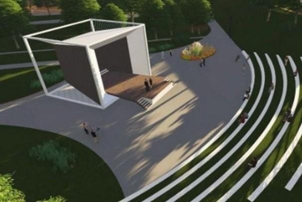 В Молодежном парке откроют ретро-зону и амфитеатр