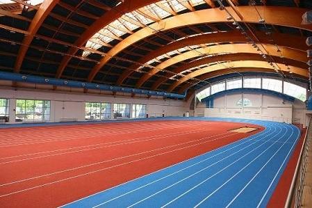 В спорткомплексе ХТЗ реконструируют легкоатлетический манеж