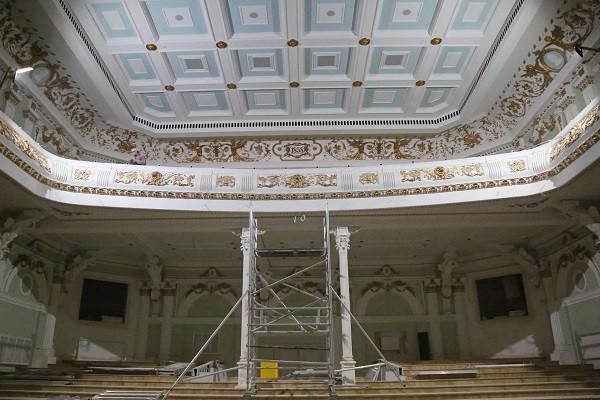 Строительство Харьковской филармонии вышло на финишную прямую