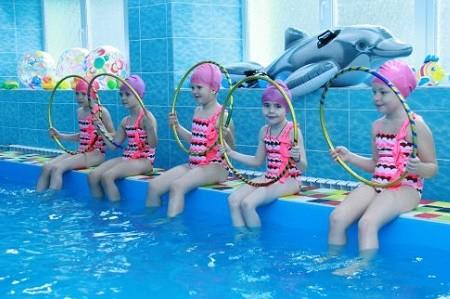 В детском саду на Салтовке открыли бассейн