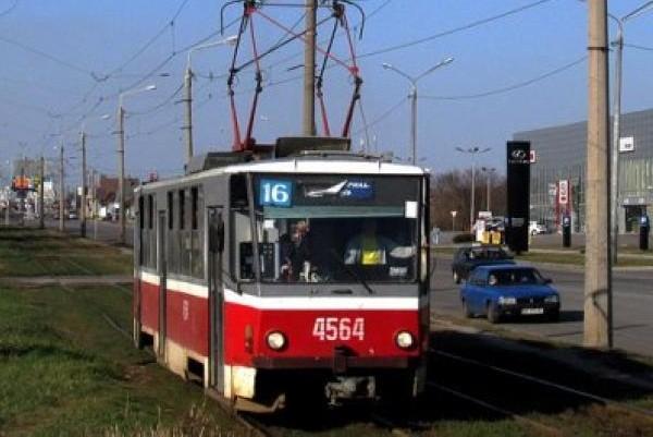 На Салтовке два дня не будут ходить трамваи