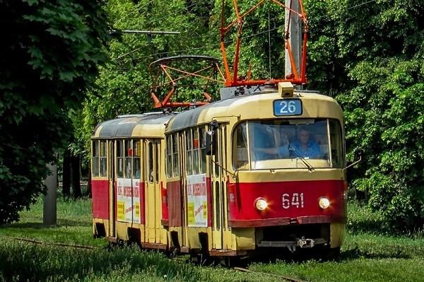 В Харькове три трамвая поменяют свои маршруты