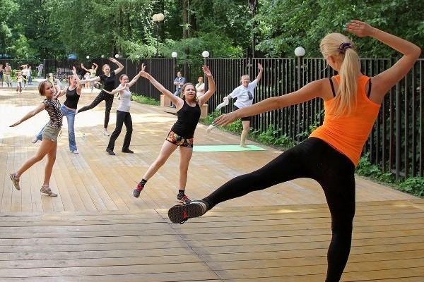 Харьковчан зовут на бесплатные фитнес-тренировки