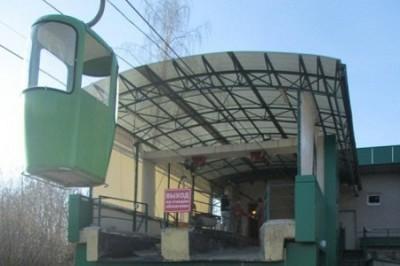 Харьковская канатная дорога временно не работает