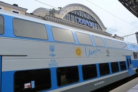 Из Харькова в столицу будет курсировать двухэтажный поезд