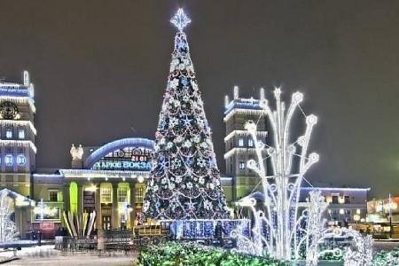 Ко дню святого Николая на Южном вокзале заработает ледовый фонтан