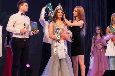 В Харькове выбрали самую красивую девушку года