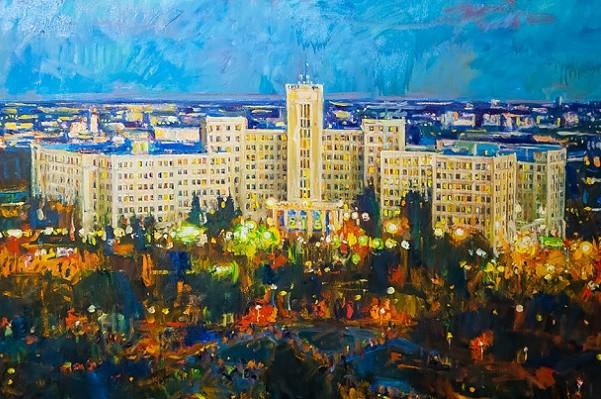 Харьковчан приглашают на выставку картин, посвященную университету Каразина