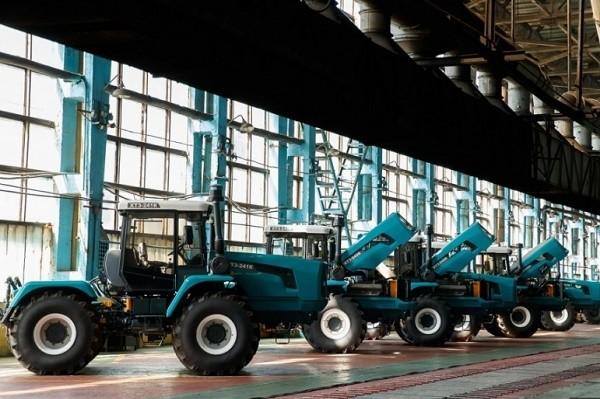 Харьковский тракторный завод стал арт-объектом
