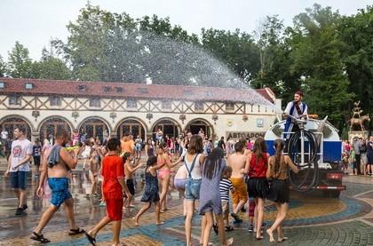 В парке Горького пройдет самый мокрый праздник лета