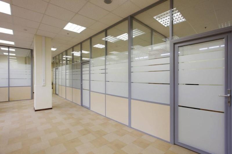 Офисные перегородки как способ зонирования офиса