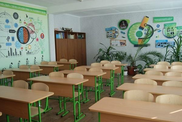 В школах Харькова оборудуют современные кабинеты