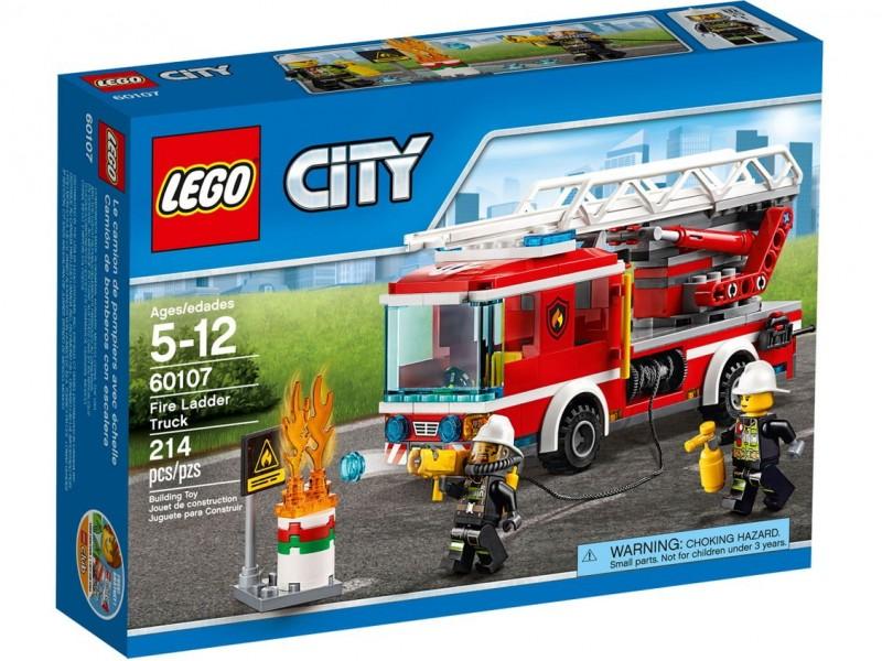 Конструктор Лего Сити - одна из самых интересных и популярных серий LEGO