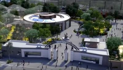 Харьковский зоопарк после реконструкции: анимационный фильм
